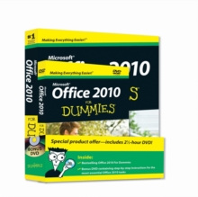 Office 2010 for Dummies, Book + DVD Bundle, Paperback Book