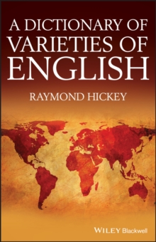 A Dictionary of Varieties of English, Hardback Book