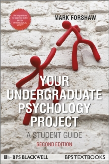 Your Undergraduate Psychology Project : A Student Guide, Paperback / softback Book