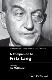 A Companion to Fritz Lang, Hardback Book