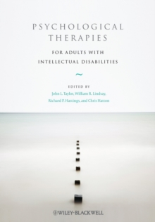 Psychological Therapies for Adults with Intellectual Disabilities, Hardback Book
