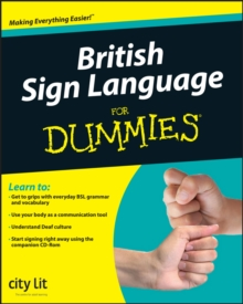 British Sign Language For Dummies, Paperback Book
