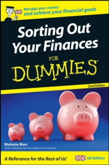Sorting Out Your Finances for Dummies, Paperback Book