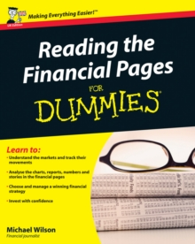 Reading the Financial Pages For Dummies, Paperback Book