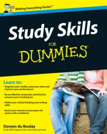 Study Skills For Dummies, Paperback / softback Book
