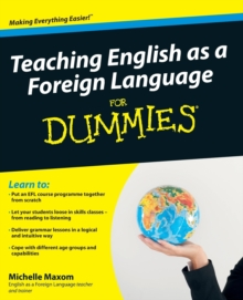 Teaching English as a Foreign Language for Dummies, Paperback Book