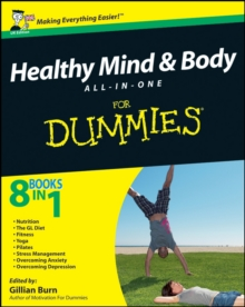 Healthy Mind and Body All-in-One For Dummies, Paperback Book