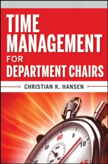 Time Management for Department Chairs, Paperback / softback Book