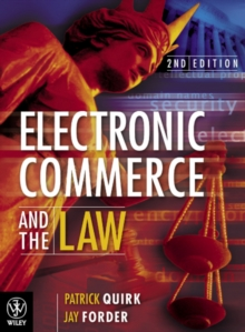 Electronic Commerce and the Law 2E, Paperback Book