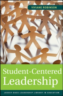 Student-centered Leadership, Paperback Book