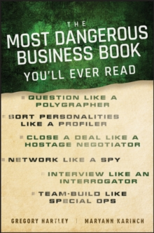 The Most Dangerous Business Book You'll Ever Read, Hardback Book