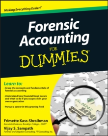 Forensic Accounting For Dummies, Paperback / softback Book