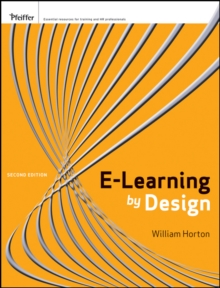 e-Learning by Design, Paperback Book