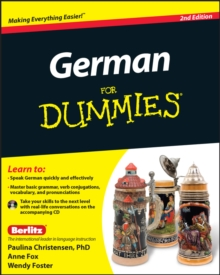 German for Dummies, 2nd Edition with CD, Paperback Book