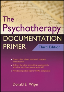 The Psychotherapy Documentation Primer, Paperback / softback Book