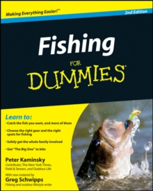 Fishing for Dummies, Paperback Book