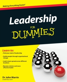 Leadership For Dummies, Paperback Book