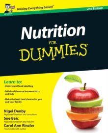 Nutrition for Dummies 2E, Paperback Book