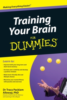 Training Your Brain For Dummies, Paperback Book
