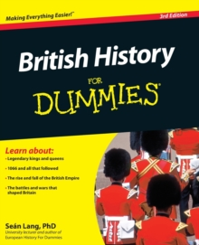 British History For Dummies, Paperback Book