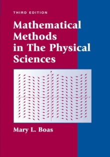 Mathematical Methods in the Physical Sciences, Hardback Book