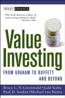 Value Investing : From Graham to Buffett and Beyond, Paperback Book