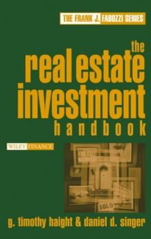 The Real Estate Investment Handbook, Hardback Book