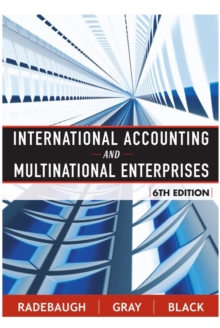 International Accounting and Multinational Enterprises, Hardback Book