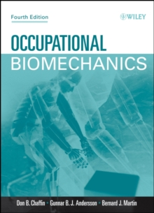 Occupational Biomechanics, Hardback Book