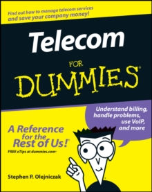 Telecom for Dummies, Paperback / softback Book