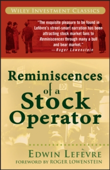 Reminiscences of a Stock Operator, Paperback Book