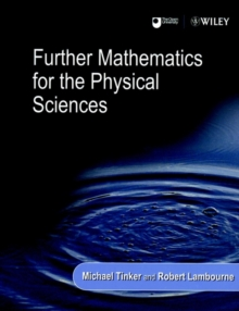 Further Mathematics for the Physical Sciences, Paperback / softback Book