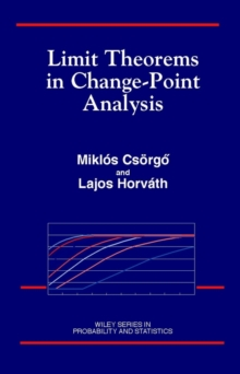 Limit Theorems in Change-Point Analysis, Hardback Book