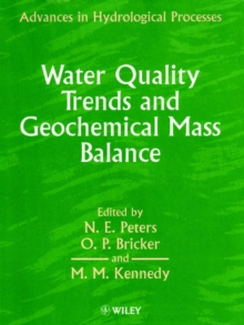 Water Quality Trends and Geochemical Mass Balance, Paperback / softback Book