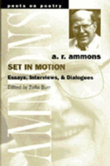 Set in Motion : Essays, Interviews and Dialogues, Paperback / softback Book