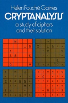 Cryptanalysis, Paperback / softback Book
