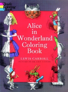 Alice in Wonderland Coloring Book, Paperback Book