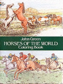 Horses of the World Colouring Book, Paperback Book