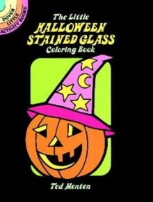 The Little Halloween Stained Glass Coloring Book, Paperback / softback Book