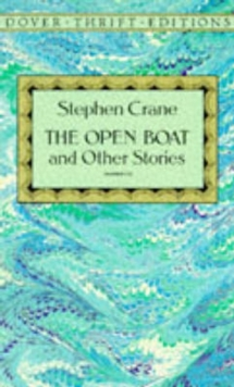 """The Open Boat, Paperback Book"