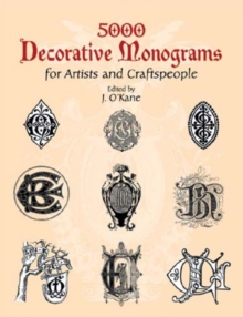 5000 Decorative Monograms for Artists and Craftspeople, Paperback / softback Book