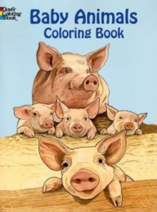 Baby Animals Coloring Book, Paperback / softback Book