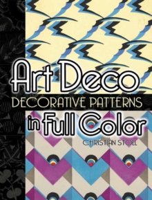 Art Deco Decorative Patterns in Full Color, Paperback / softback Book
