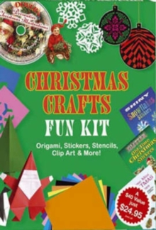 Christmas Crafts Fun Kit, Stickers Book