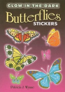 Glow-In-The-Dark Butterflies Stickers, Paperback / softback Book