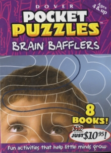 Brain Bafflers Pocket Puzzles, Multiple copy pack Book