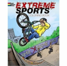 Extreme Sports Coloring Book, Paperback / softback Book