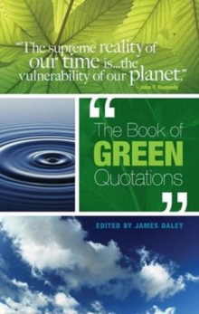 The Book of Green Quotations, Paperback / softback Book