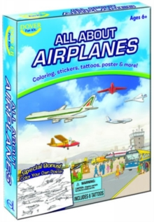 All About Airplanes Fun Kit, Stickers Book