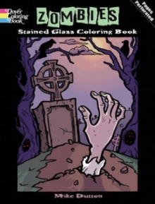 Zombies Stained Glass Coloring Book, Paperback / softback Book